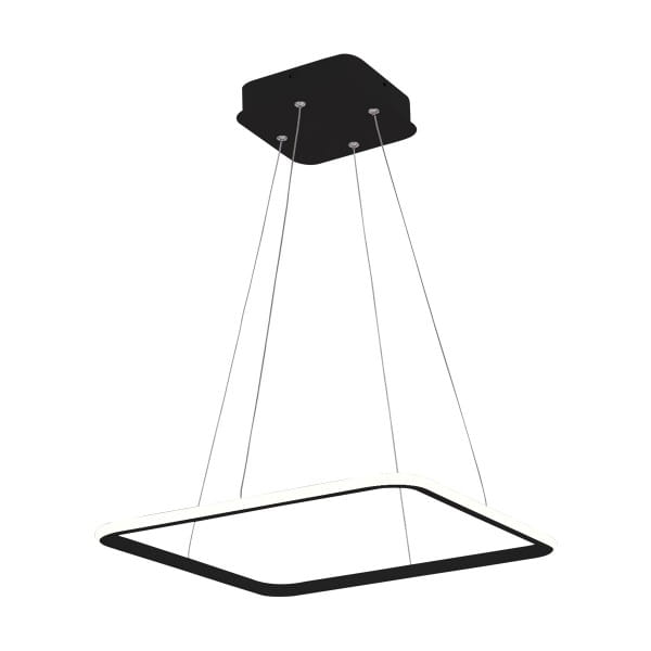 LED Pendelleuchte NIX BLACK EXTERNO Schwarz 25W 1750lm