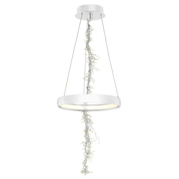 Weiße LED Pendelleuchte 35W