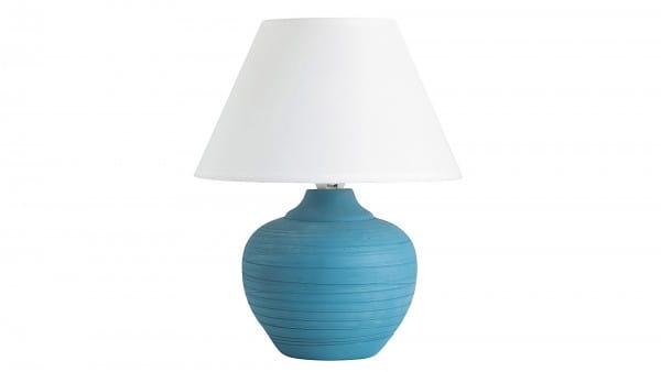 Tischlame blau weiß