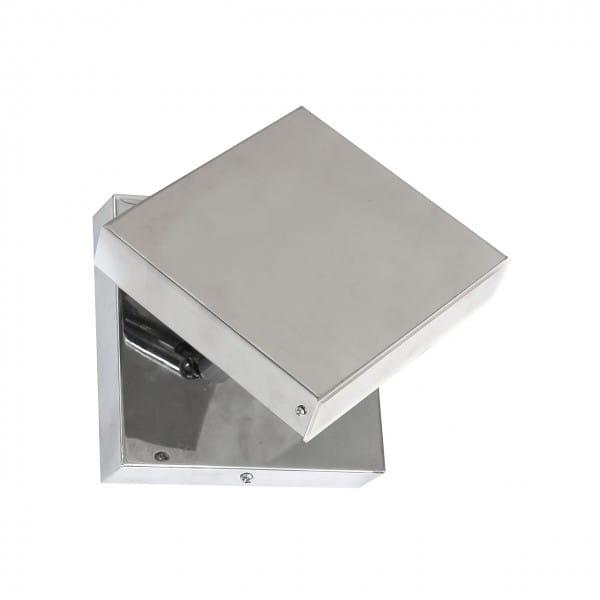 LED Wandleuchte CUADRA Chrom 6W 420lm