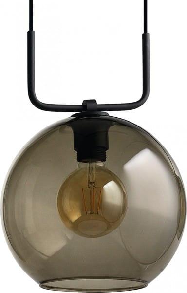 Pendelleuchte aus Glas schwarz 1 flammig E27 MONACO
