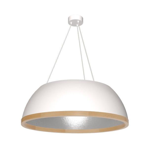 Pendelleuchte Grau/Weiß MAXIM 60W E27 3-flammig