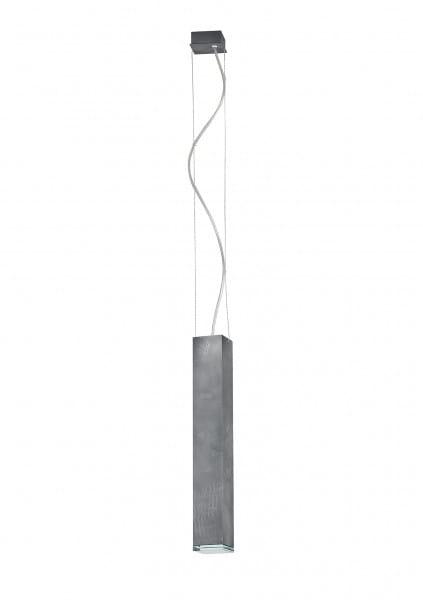 Pendelleuchte modern aus Metall grau BRYCE M GU10