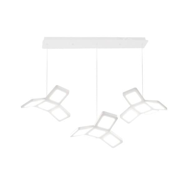 LED Pendelleuchte PIXELS Weiß 75W