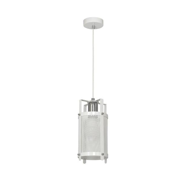 Pendelleuchte Weiß BRONX 60W E27 1-flammig