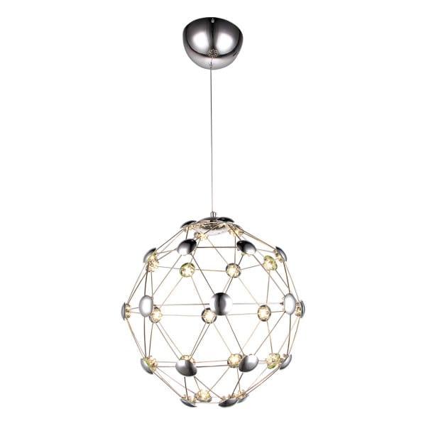 LED Pendelleuchte WIRE nickel 32W 2240lm