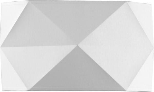 Wandleuchte Stoff Weiß 32 cm