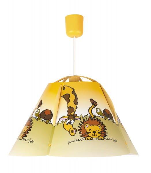 Kinderzimmerlampe Tiere bunt 1 flammig E27