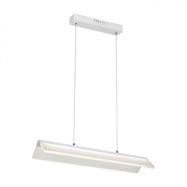 LED Pendelleuchte VENTO Weiß 24W 1680lm