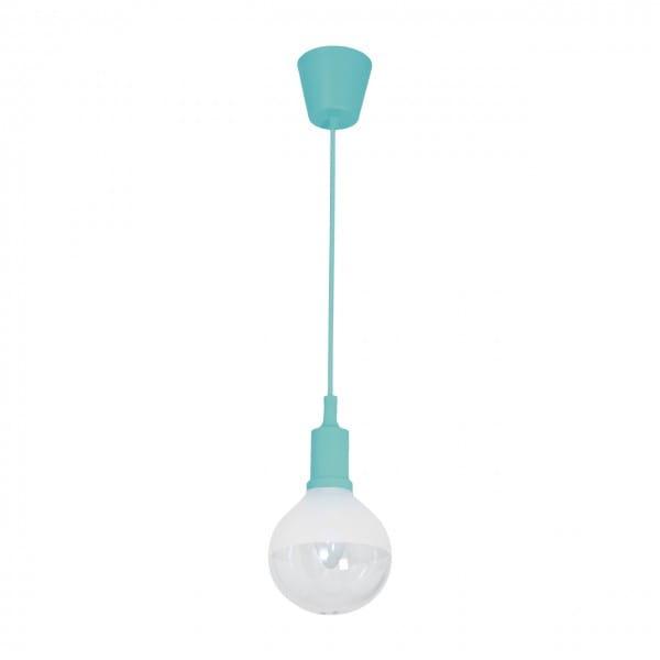 LED Pendelleuchte BUBBLE türkis türkis 5W 350lm