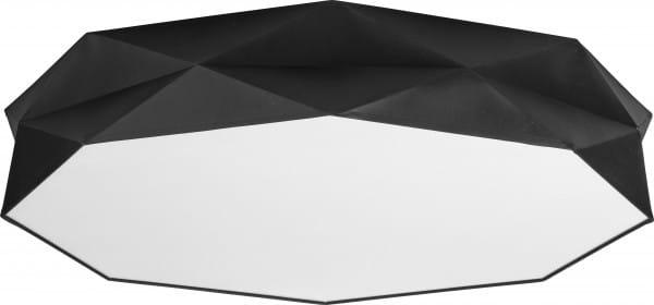 Deckenleuchte Stoff Schwarz 86 cm