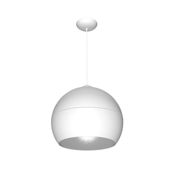Pendelleuchte Weiß/Grau LEA WHITE 60W E27 1-flammig