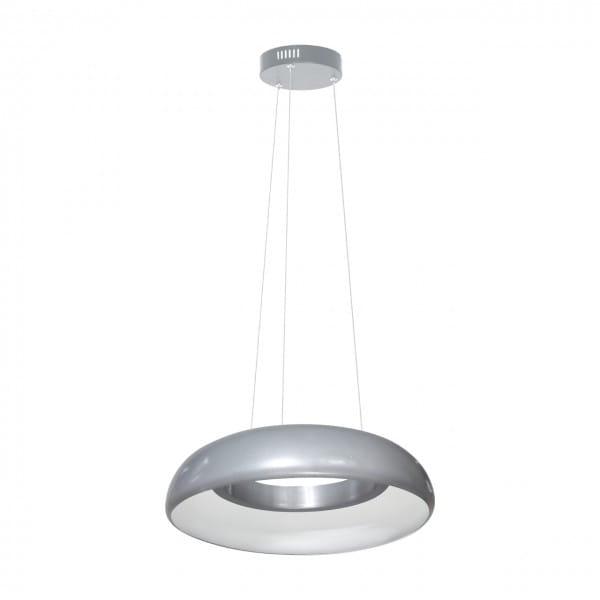 LED Pendelleuchte Grau Ring 36W