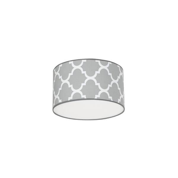 Deckenleuchte Grau/Weiß PIERRE GREY 60W E27 1-flammig