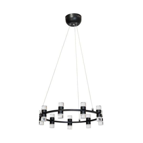 LED Pendelleuchte FLORENCE Schwarz 54W 3780lm