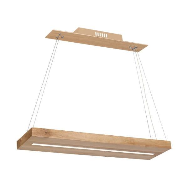 LED Pendelleuchte LOG Holz 12W 840lm