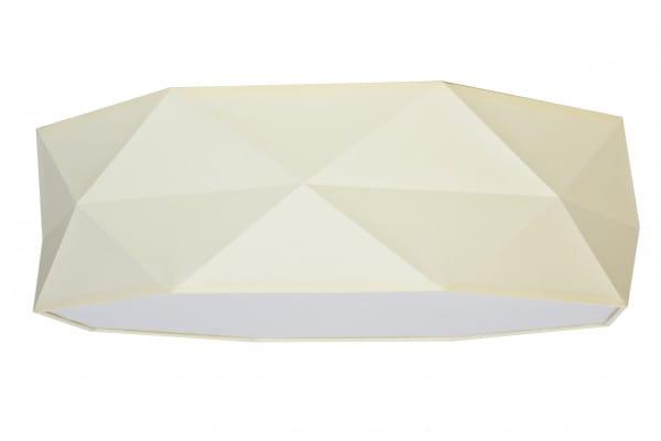 Deckenleuchte Stoff Ecru 52 cm mit Magnethalterung