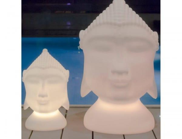 LED Dekoleuchte Buddha Garten 70 cm