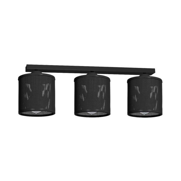 Deckenleuchte LOUISE BLACK schwarz aus Metall 64cm