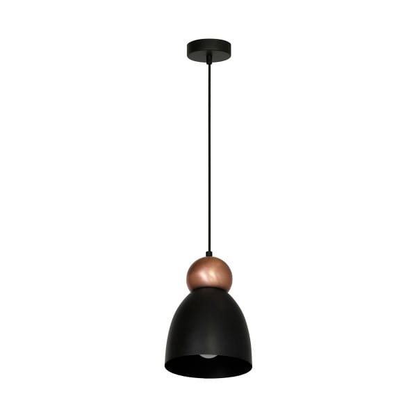 Pendelleuchte Schwarz TAURUS BLACK 60W E27 1-flammig