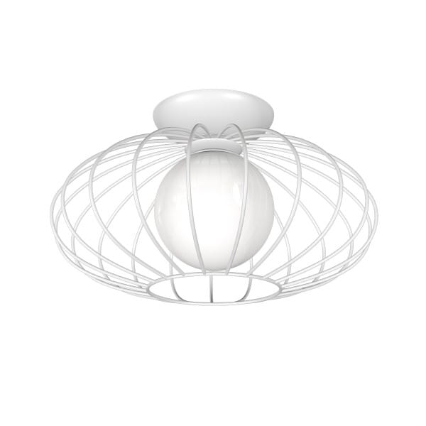 Deckenleuchte Weiß KRONOS WHITE 60W E27 1-flammig