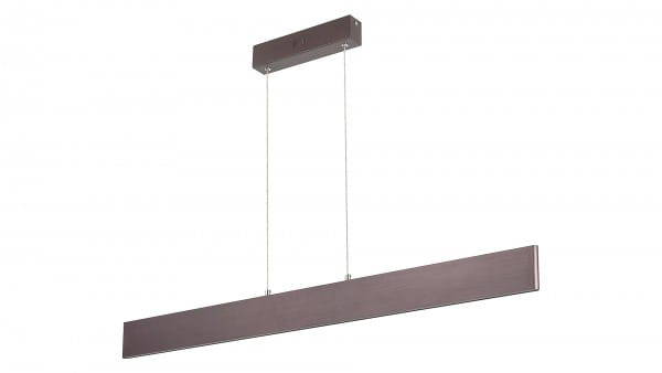 LED Pendelleuchte metallbraun LED-Board 18W A 3000K 1050lm IP20