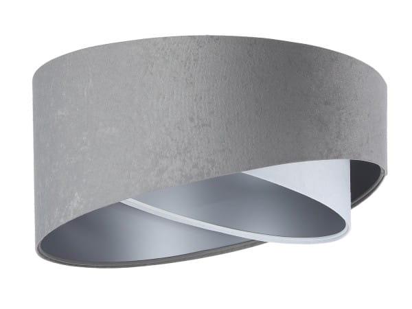 Deckenleuchte Susanne in grau/weiß/silber