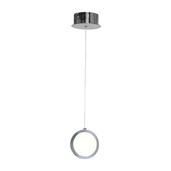 LED Pendelleuchte CIRCOLO Chrom 7W 490lm
