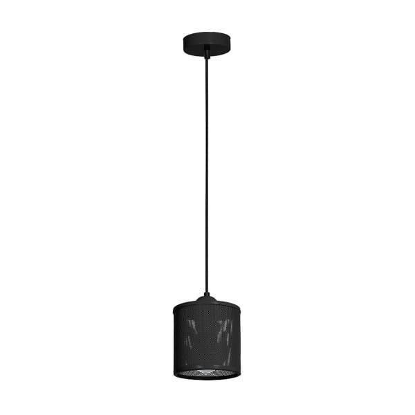 Pendelleuchte Schwarz LOUISE BLACK 60W E27 1-flammig