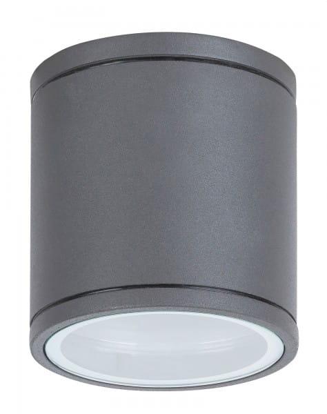 Außendeckenleuchte rund anthrazit GU10 35 Watt IP54 Arkon