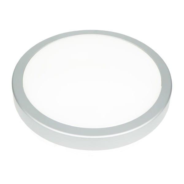 LED Deckenleuchte Silber 24W 1960lm