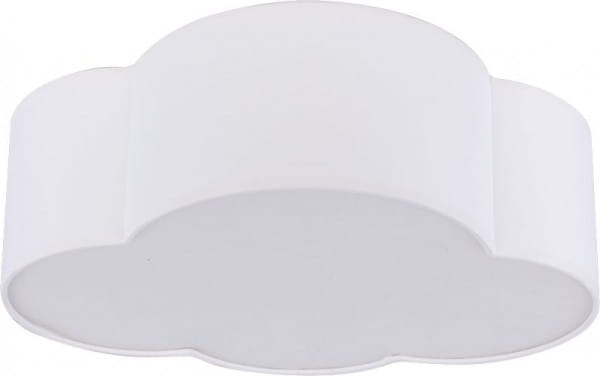 Kinderzimmerlampe Wolke Weiß 41 x 31 cm E27 Cloud