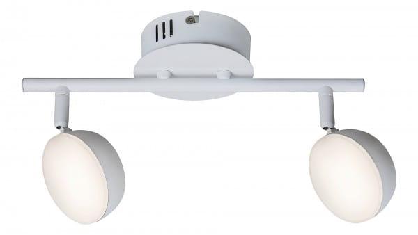 LED Deckenleuchte matt weiss LED-Board 2X4W A+ 2700-5000K 2X350lm IP20