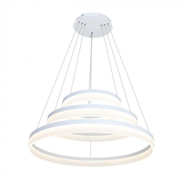 Weiße LED Pendelleuchte 62W RING