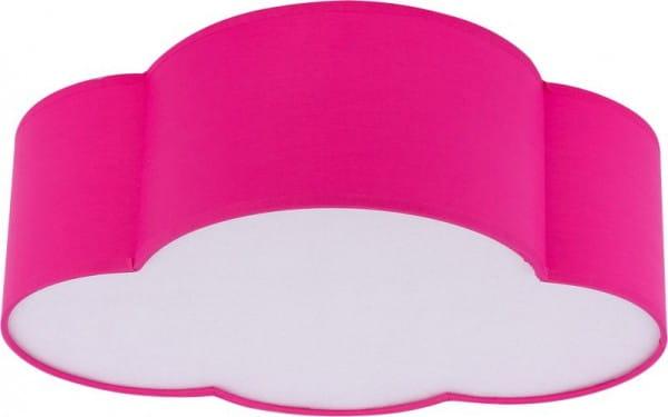 Kinderzimmerlampe Wolke Pink 41 x 31 cm E27 Cloud
