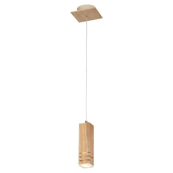 LED Pendelleuchte BERGEN Holz 5W 350lm