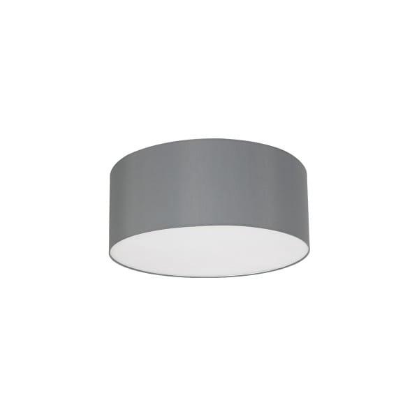 Deckenleuchte BARI GREY grau aus Metall/Stoff 50cm