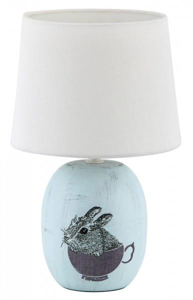 Tischlampe Dorka blau