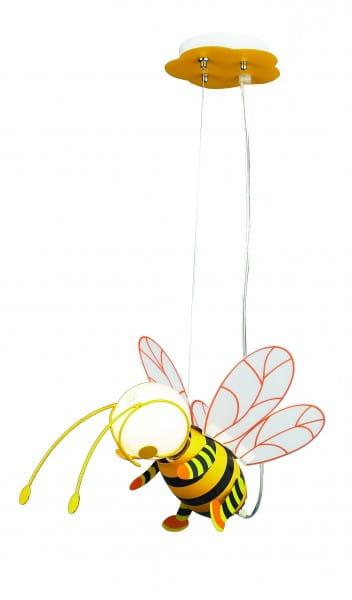 Kinderzimmerlampe 1 flammig E27 gelb Bee
