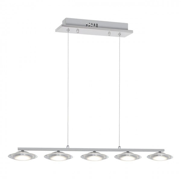 LED Stehleuchte ELLIPSE chrom aus Metall