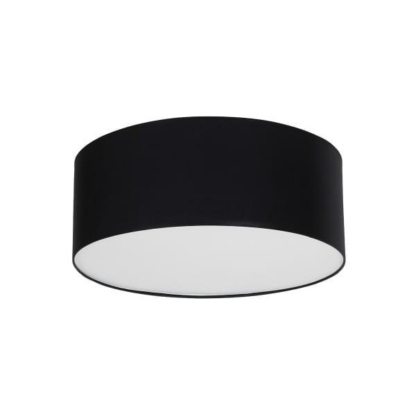 Deckenleuchte BARI BLACK schwarz aus Metall/Stoff 70cm