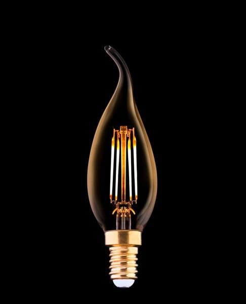 Filament Leuchtmittel E14 gold 4W 2200K warmweiß