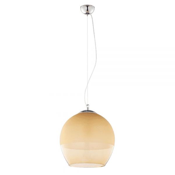 Deckenlampe Ø 38 cm E27 Bernstein BOULETTE