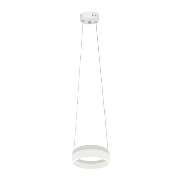 RING LED Leuchte Pendel 12W Weiß