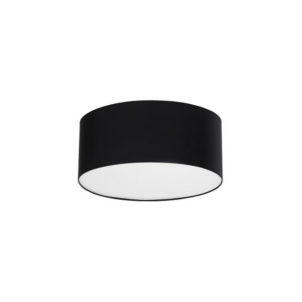 Deckenleuchte BARI BLACK schwarz aus Metall/Stoff 50cm