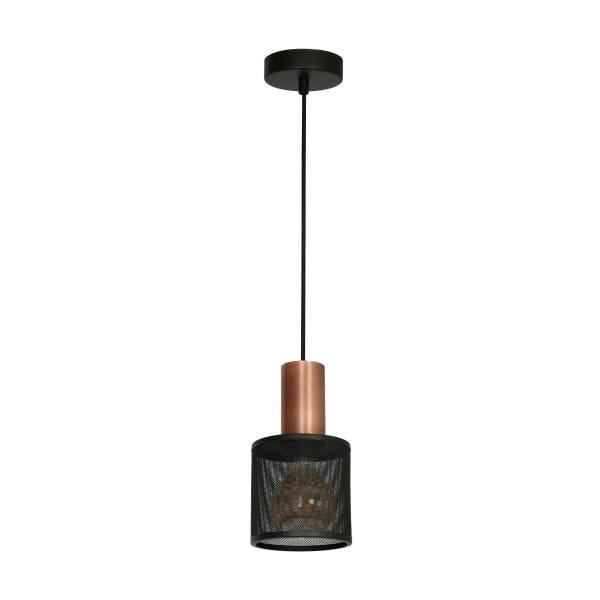 Pendelleuchte Schwarz ARES BLACK 60W E27 1-flammig