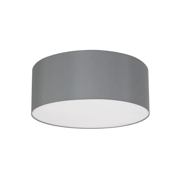 Deckenleuchte BARI GREY grau aus Metall/Stoff 70cm