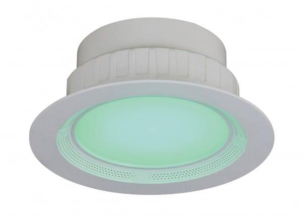 Bluetooth Lautsprecher LED mit Farbwechsel Einbauleuchte
