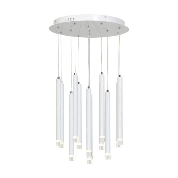 LED Pendelleuchte ALBA Weiß 12W 840lm