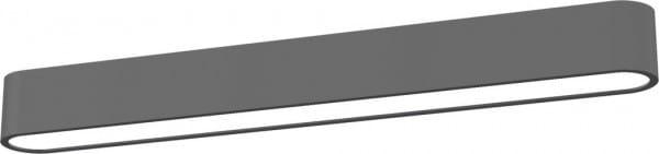 LED Deckenleuchte 11W 1000lm grau warmweiß 3000K